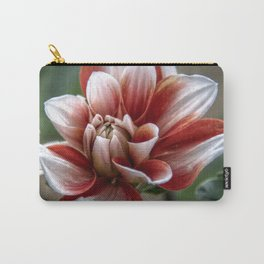 Unfurling flower Carry-All Pouch
