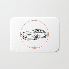 Crazy Car Art 0052 Bath Mat