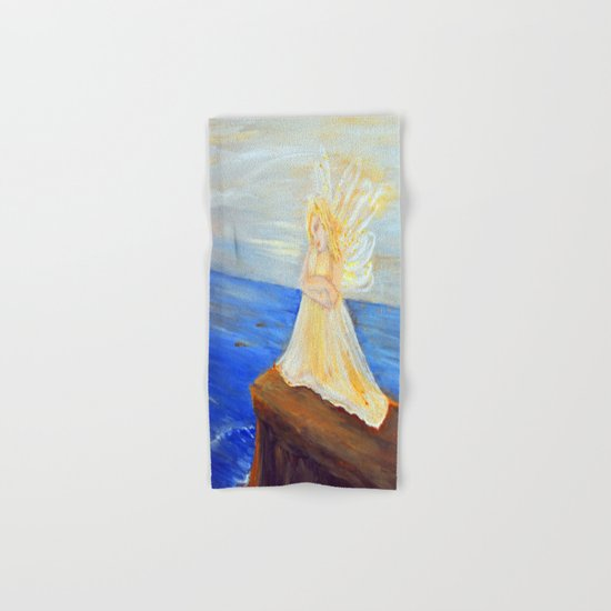 Invite your Angel | Angels are here Hand & Bath Towel
