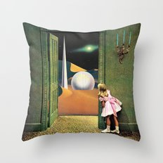 Prophetic Vision Throw Pillow