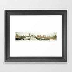 Atop a City Framed Art Print