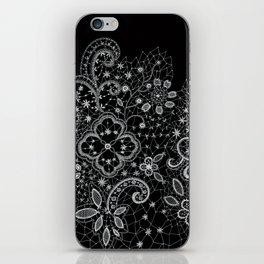 B&W Lace iPhone Skin