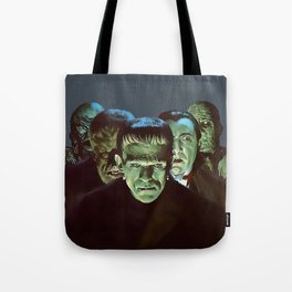 Famous Monsters Gang Tote Bag