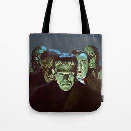 Famous Monsters Gang Tote Bag