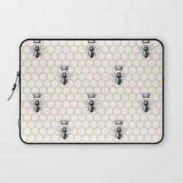 Bee Neck Gator Queen Bee Beekeper Laptop Sleeve