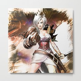 League of Legends RIVEN Metal Print