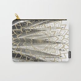 Gold Mandala on Agave #1 #tropical #decor #art #society6 Carry-All Pouch
