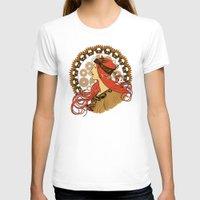 nouveau T-shirts featuring Steampunk Nouveau by Nana Leonti