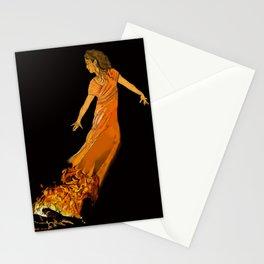 Fire Dancer - Muertos Series Stationery Cards