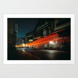 Narita at Night Art Print