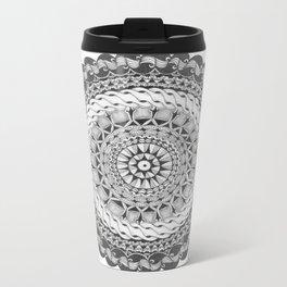 Zendala - Zentangle®-Inspired Art - ZIA 39 Metal Travel Mug
