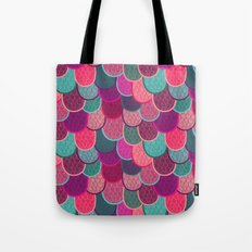Fish Scales and Mermaid Tales Tote Bag