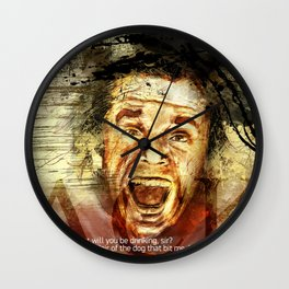 jack torrance Wall Clock