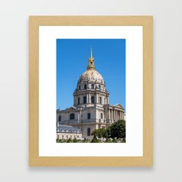 Hotel des Invalides - Paris Framed Art Print