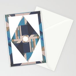 Covered Glass Stationery Cards