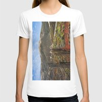 big sur T-shirts featuring Big Sur Mountains by Jeremiah Wilson