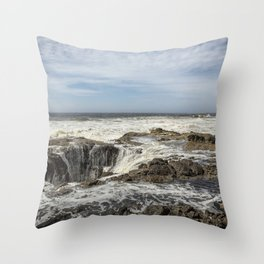 Thor's Well, No. 2 Throw Pillow