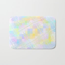 Re-Created Twisted SQ V by Robert S. Lee Bath Mat