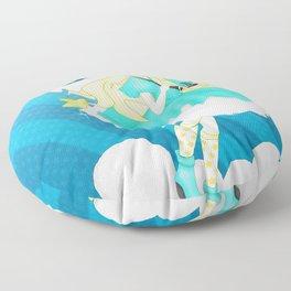 In the Sky: Rosalina Floor Pillow