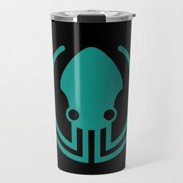 gitkraken developer github occult sigil of the gateway octopus satanism programmer Travel Mug