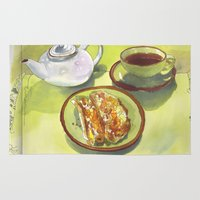 breakfast Area & Throw Rugs featuring Breakfast by Roisin