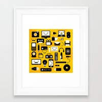 technology Framed Art Prints featuring Technology  by adrianperive