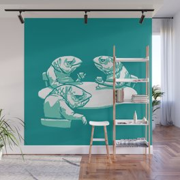 Drink like a Fish Wall Mural