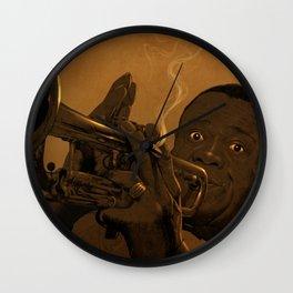 LOUIS ARMSTRONG II Wall Clock