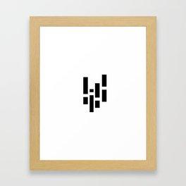 Everydaygeometric - Day Eight -  Framed Art Print