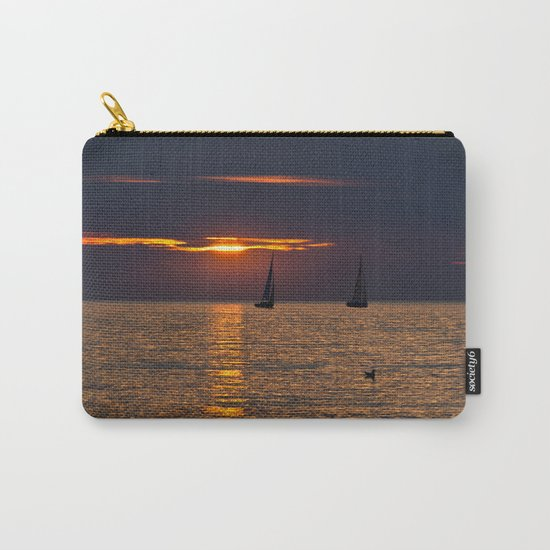 Summer sunset on the Baltic Sea Carry-All Pouch