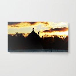 Sunrise Djurgården Stockholm 2 Metal Print