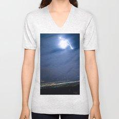Moon Jump Sky Unisex V-Neck