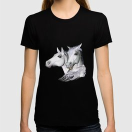 White Horses of the Camargue T-shirt
