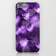Light Bulb Hearts Series (purple) iPhone 6s Slim Case