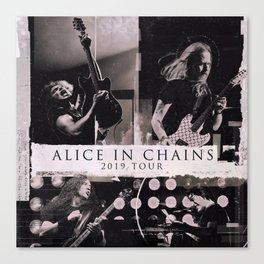 alice in chains live tour 2019 mentah Canvas Print
