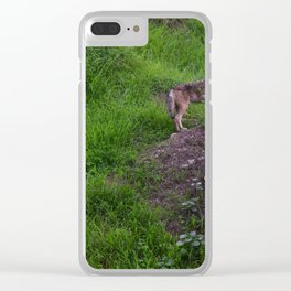 Trickster In The Woods Clear iPhone Case