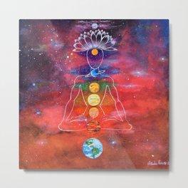 Satellite of Loving Kindness Metal Print