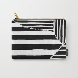 Stripes & Stitches Carry-All Pouch