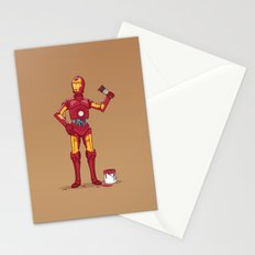 Iron Droid Stationery Cards