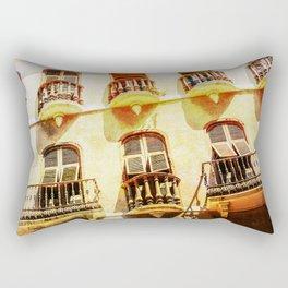 Gibraltar balconies Rectangular Pillow