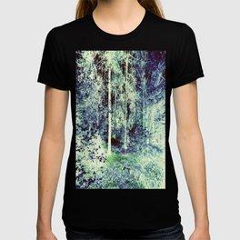 Dream Forest Teal Blue Green T-shirt
