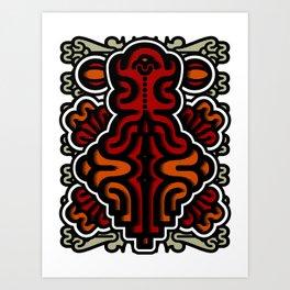 Biotica 3 Art Print