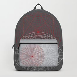 Confused lines Backpack