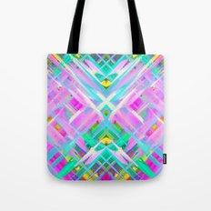 Colorful digital art splashing G473 Tote Bag