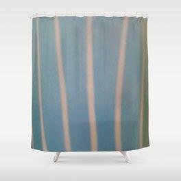 Strokes blue Shower Curtain