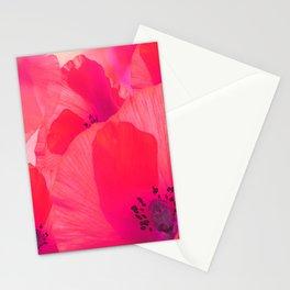 Red Poppies #decor #society6 #buyart Stationery Cards