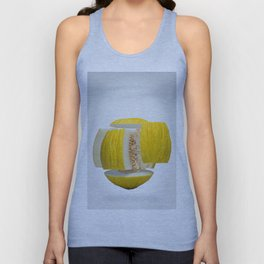 Flying Casaba Melon Unisex Tank Top