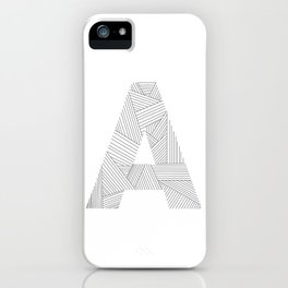 A strings iPhone Case