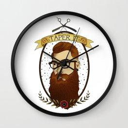 Taper It Wall Clock