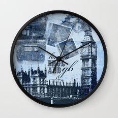 Anglophile Love Wall Clock